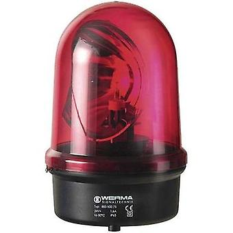 Emergency light Werma Signaltechnik 883.100.68 Red