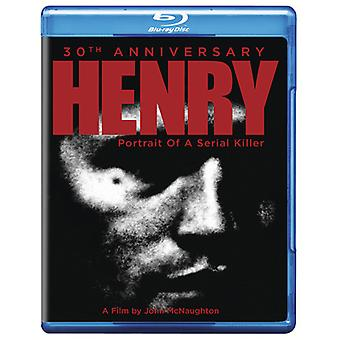 Henry Portrait of a Serial Killer: 30th Anniv [Blu-ray] USA import