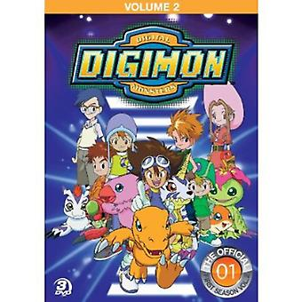 Importación de los E.e.u.u. de Digimon Adventure Vol. 2 [DVD]