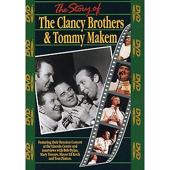Clancy Brothers/Makem - Geschichte von Clancy Bros & Tommy Makem [DVD] USA import