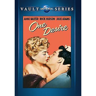 One Desire [DVD] USA import
