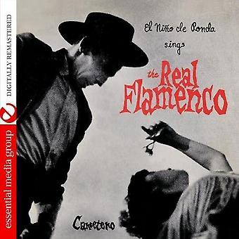 El Nino De Ronda - El Nino De Ronda canta la importación de Estados Unidos Real Flamenco [CD]