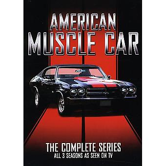 Amerikaanse Muscle Car: Complete serie [DVD] USA importeren