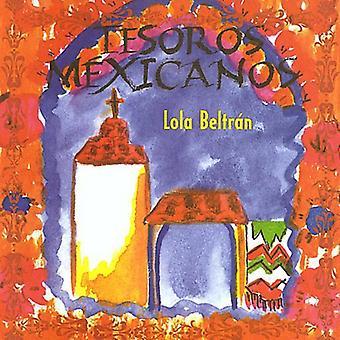 Lola Beltrán - importación de Estados Unidos Tesoros Mexicanos [CD]