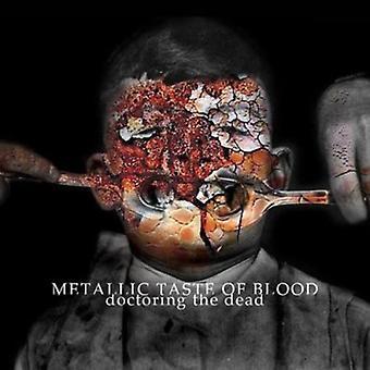 Metallisk smag af blod - manipulering døde [CD] USA importen