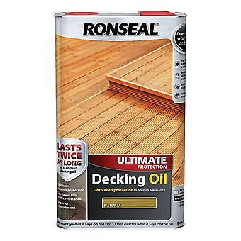 Ronseal Ultimate Protection Decking Oil 5 Litre - Natural