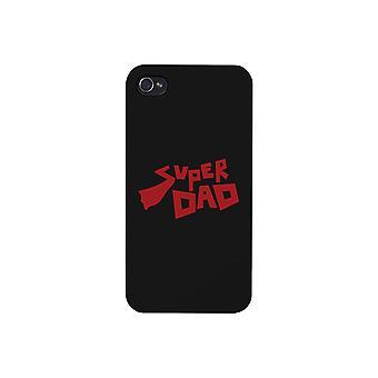 Super Dad Black Phone Case