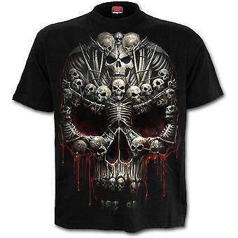 Spiral - DEATH BONES - Men's Short Sleeve T-Shirt, Black