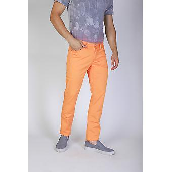 Jaggy Trousers Orange Men