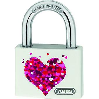 ABUS Aluminum 40MM lock My Love Heart T65Al / 40 My Love B