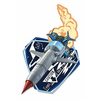 Thunderbird 1 Rapid Response Vehicle Wall Mounted Cardboard Cutout