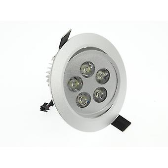 I LumoS High Quality Epistar 5 Watts Silver Circle Aluminium LED Spot Downlight
