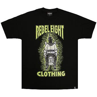 Rebel8 Fried T-shirt Black
