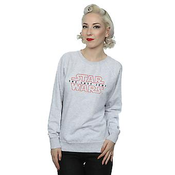 Star Wars Women's The Last Jedi Logo Sweatshirt