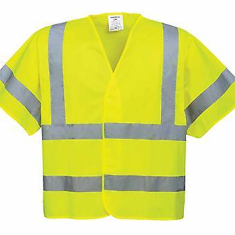 Portwest - Hi-Vis sikkerhed arbejdstøj korte ærmer Vest