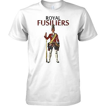 Königliche Füsilier - britische Armee Infanterie - T-Shirt für Herren