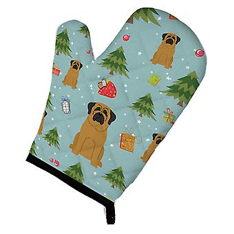 Carolines Treasures  BB4678OVMT Christmas Mastiff Oven Mitt