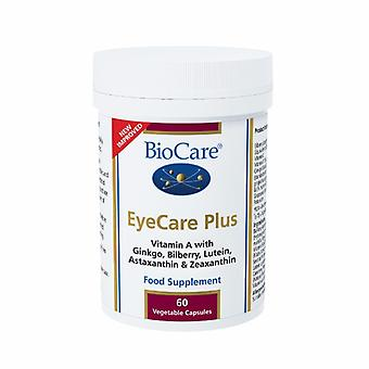 Biocare EyeCare Plus(eye support with Vitaflavan), 60 vegi capsules