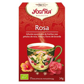 Yogi Tea Rosa Tao Infusion 17 Bags (Diet , Herbalist's , Infusions)
