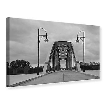 Lona impresión poética puente