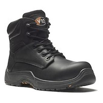 V12 VR600.01 Sz 12 Bison Igs S3 Black Safety Boot Fully Composite