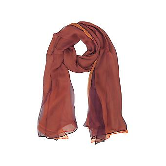 Laura Biagiotti women's B4441N0164 red silk scarf