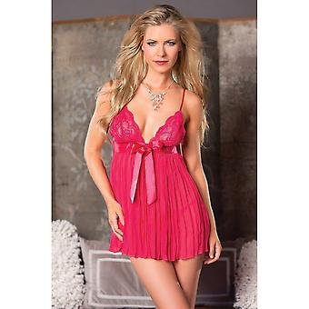 Be Wicked BW1442F Pleated Babydoll