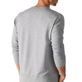 Mey 23540-620 Men's Enjoy Grey Solid Colour Pajama Pyjama Top