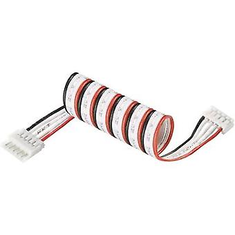 LiPo balancer cable extension Type (chargers): EH Type (rechargeable batteries): EH Suitable for (no. of batteries): 4