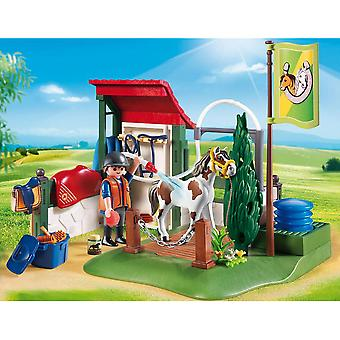 Playmobil Country häst Grooming Station