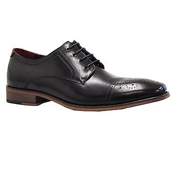 Escape Mens Shoe Patterson Black