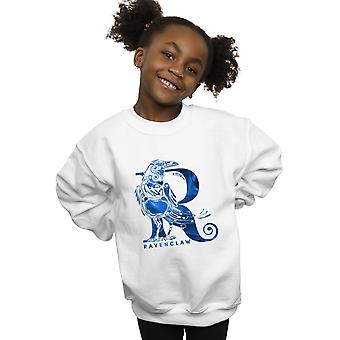 Harry Potter Girls Ravenclaw Raven Sweatshirt