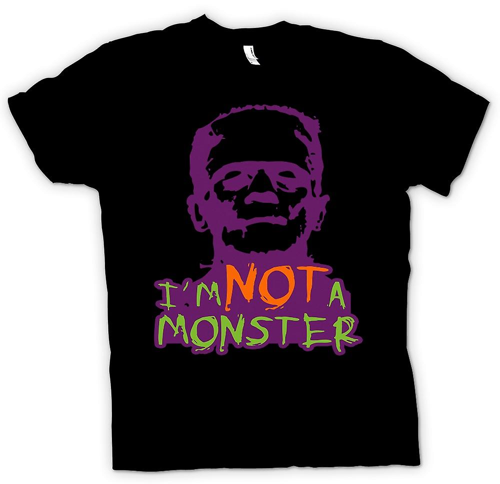 Mens T-shirt - Im pas A Monster - Frankenstein