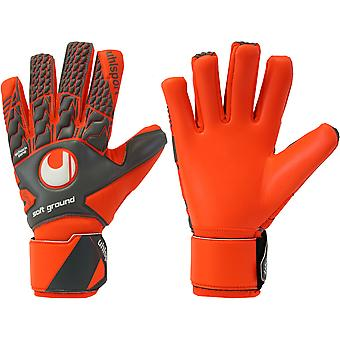 UHLSPORT AERORED SOFT HN COMPETITION  Goalkeeper Gloves Size