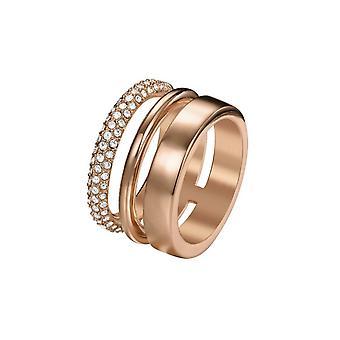 Joop women's ring stainless steel Rosé DELICATE JPRG00004C1