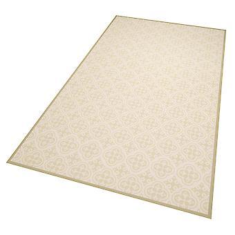 Vinyl floor protection mat Joelle Grün mix