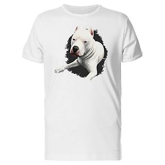 Dogo Argentino Relaxing Tee Men's -Image by Shutterstock