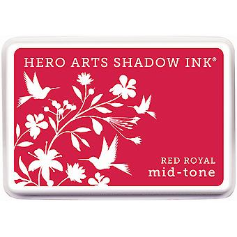 Hero Arts Midtone Shadow Ink Pad-Red Royal