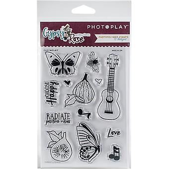 Photoplay Photopolymer Stamp-Gypsy Rose