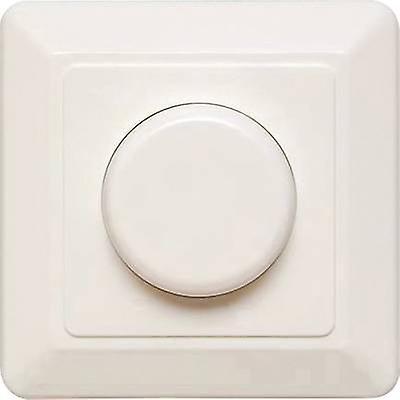 EhhomHommes T46.03 Flush-mount dimmer Suitable for lumière bulbs  LED bulb, Energy saving bulb, lumière bulb, Halogen lamp blanc