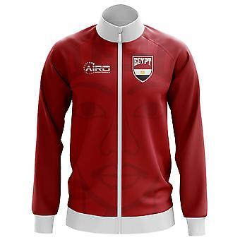 Ägypten-Konzept Fußball Track Jacket (rot) - Kinder