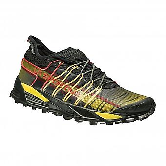 Mutant Mens Trail/Mountain Off Road Running Shoes Black/Yellow