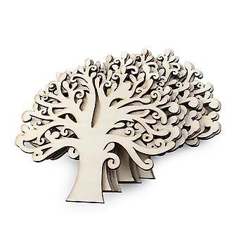 TRIXES en bois d'arbre décoration pendentifs 10pcs