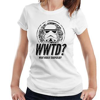 Original Stormtrooper was täten Trooper den Damen T-Shirt