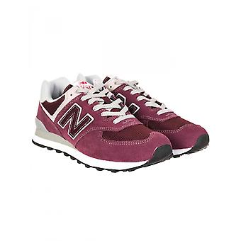 New Balance Ml574egb Trainers - Burgundy