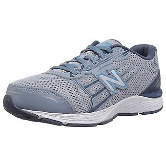 New Balance Womens kr680ssy Low Top Lace Up Running Sneaker