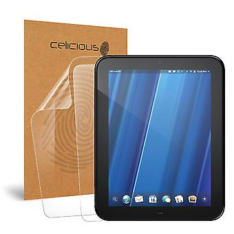 Celicious Vivid Invisible Glossy HD Screen Protector Film Compatible with HP TouchPad [Pack of 2]