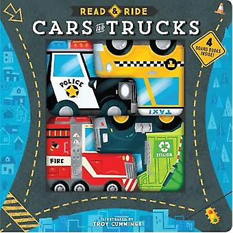 Read & Ride - Cars and Trucks - 4 board books inside! by Read &