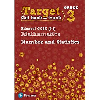 Target Grade 3 Edexcel GCSE (9-1) Mathematics Number and Statistics Workbook - Intervention Maths