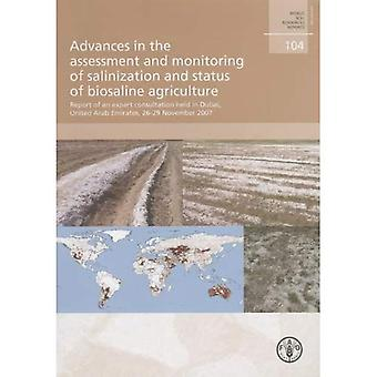 Advances in the Assessment and Monitoring of Salinization and Status of Biosaline Agriculture